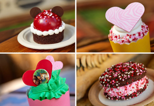 Brownies and cupcakes! Photo credits (C) Disney Enterprises, Inc. All Rights Reserved