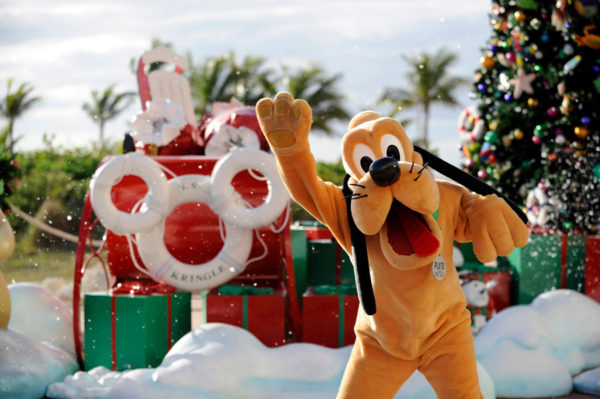 What could be better than Christmas on Castaway Cay? Photo credits (C) Disney Enterprises, Inc. All Rights Reserved
