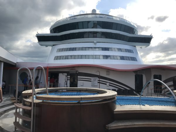 Vibe guests get access to an exclusive sun deck and pool area.