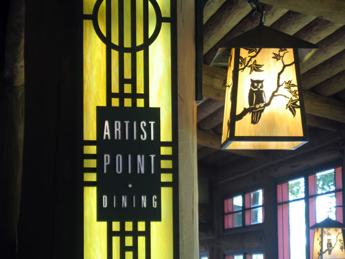 Artist Point is often overlooked but offers a great dining experience.