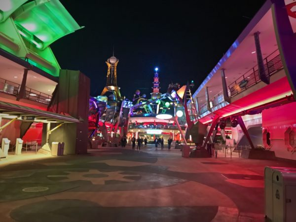 This is Tomorrowland during the event - lots of room to roam!