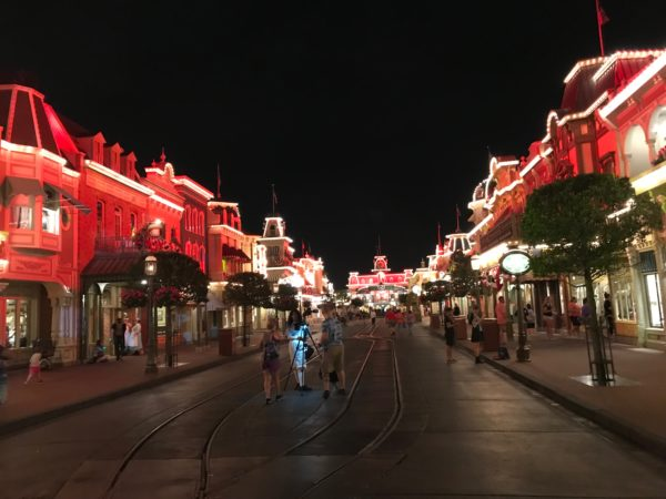 It's not often that you can experience Main Street USA, and really the entire park, with crowds this thin.