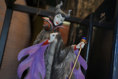 Maleficent figure.