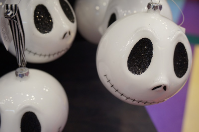 Jack Skellington ornaments.
