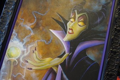 Maleficent art.