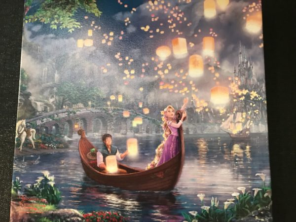 Rapunzel and Flynn Rider finally get to see the floating lanterns gleam.