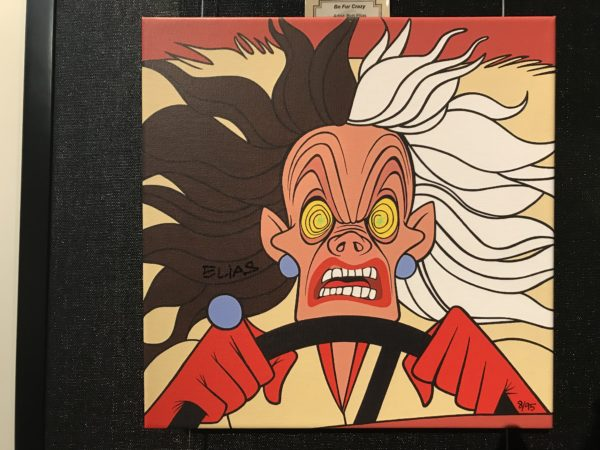 Cruella looks even scarier than normal in this piece.