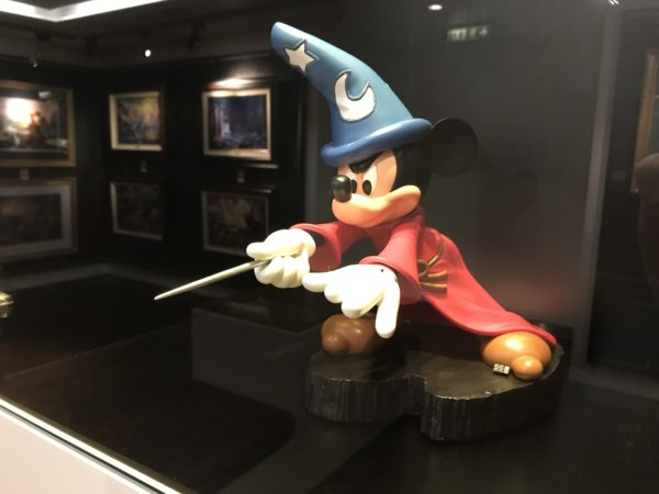 This Sorcerer Mickey statue is pretty cool!
