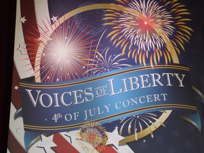 Voices Of Liberty July 4 Concert