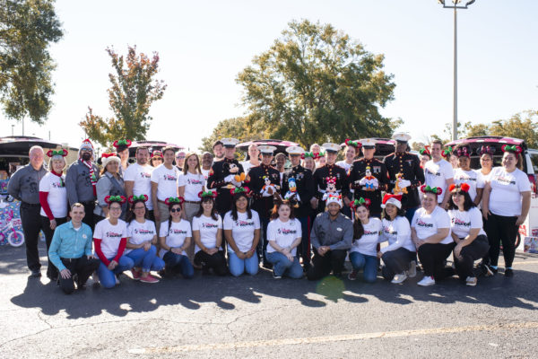 Disney World VoluntEARs delivered 30,000 toys to Toys for Tots this week! Photo credits (C) Disney Enterprises, Inc. All Rights Reserved