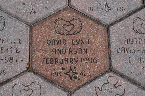 If you sponsored a brick during the Disney Decade, you can create a new brick for just $10. If you didn't participate in the program, you can still make a brick for a bit more!