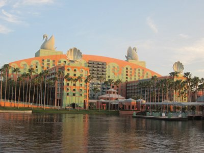 The Disney Swan and Dolphin provide great service, just like Disney operated resorts.