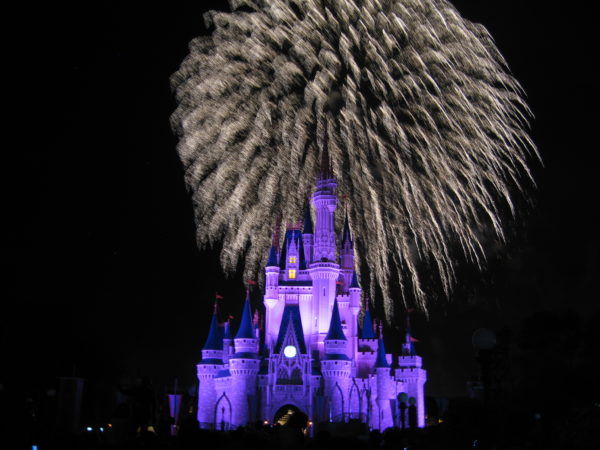 You can watch the Magic Kingdom fireworks from outside the park.