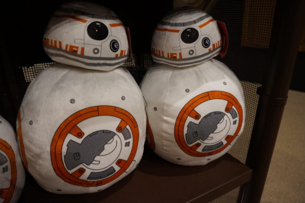 Plush representations of BB-8.