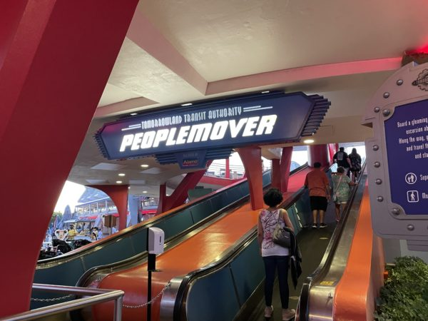 The Tomorrowland Transit Authority is a popular ride among Disney fans.