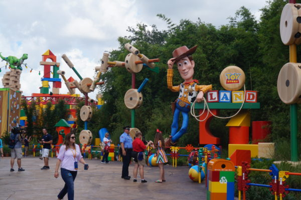 Toy Story Land shrinks guests to the size of toys!