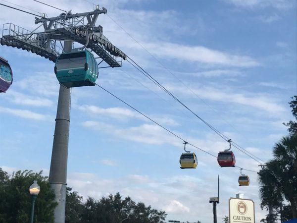 Disney Skyliner added an all-new transportation option for Disney Resort and Disney Park guests.