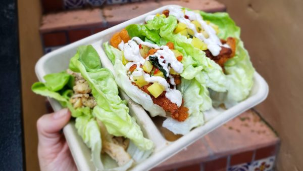 Because their wraps already use lettuce, they can replace bun or shell with the lettuce. All you have to do is ask!