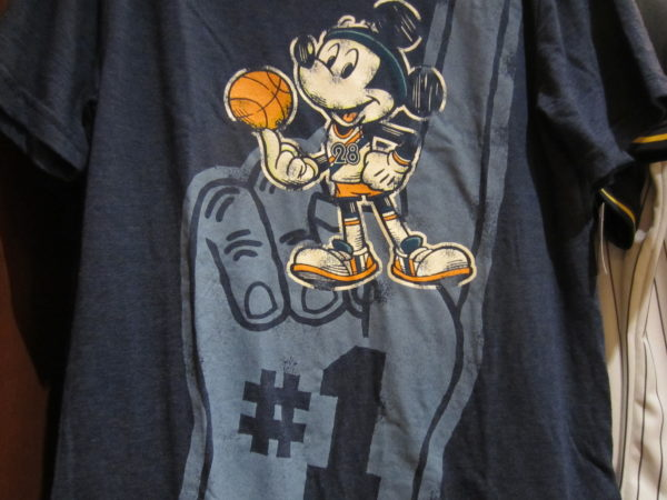 Disney World is now sponsoring the Orlando Magic jerseys!