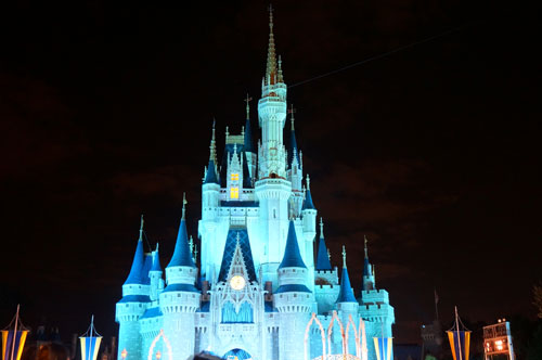 Disney World wins the castle size prize.