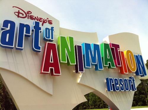 Disney World has many more resort hotels.