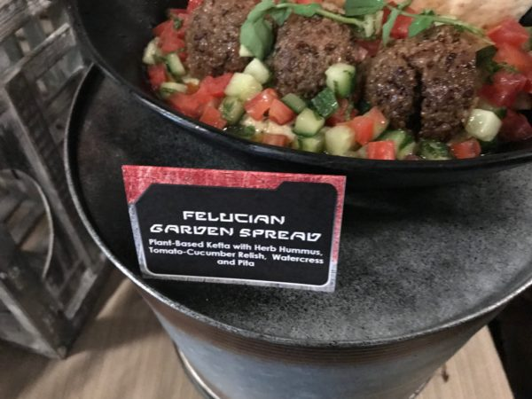 The food in Galaxy's Edge is otherworldly but somehow also familiar!