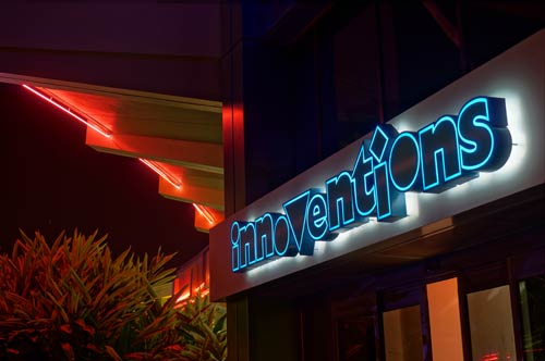 Is Innoventions more than just an air conditioned alleyway?