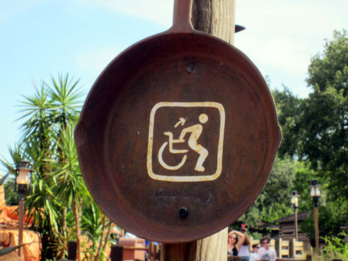 Disney does a great job of making its resort accessible to people with mobility limitations.