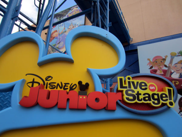 Disney Junior - Live on Stage! is the best place to find Disney Junior characters in Disney World.