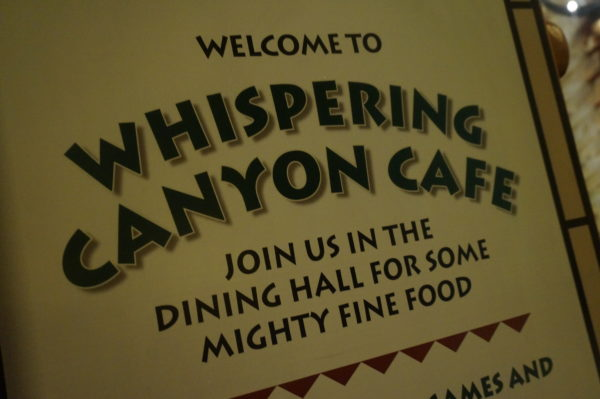 Whispering Canyon will still serve mighty fine food, but the fun and games are reportedly on their way out.