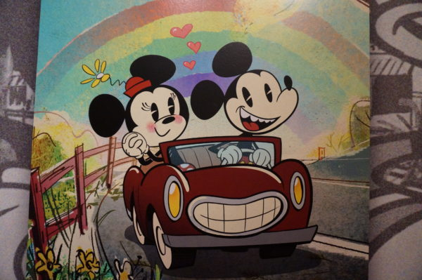 Mickey & Minnie's Runaway Railway will be the first Mickey and Minnie-themed ride Disney has ever created!