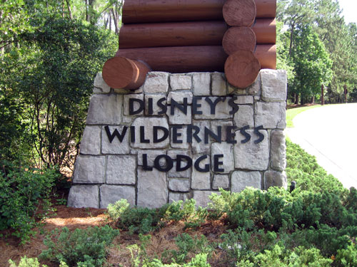 Wilderness Lodge has a fascinating and detailed back story.