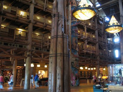 You can find a total of three totem poles in the resort.