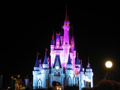 Win something money can't buy - a night's stay in the Cinderella Castle suite.