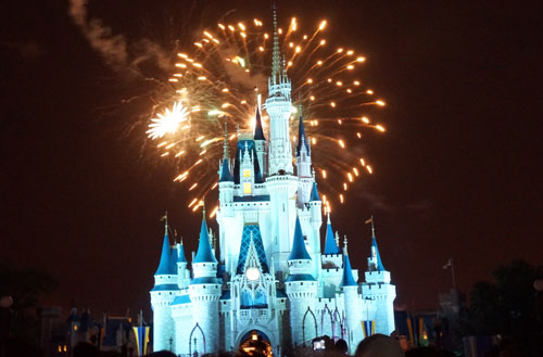Win a vacation to Walt Disney World and stay in the ultra-exclusive Cinderella Castle Suite.