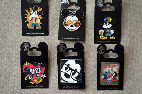 All six of these Cool Mickey pins will go to one lucky winner!
