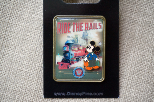 Cool Mickey likes trains just like his creator, Walt Disney!