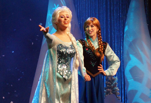 Win a Disney Vacation and meet Anna and Elsa.