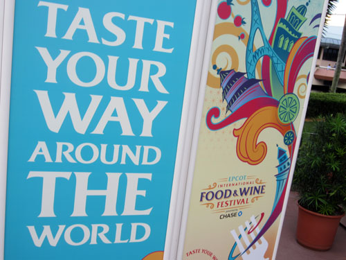 Win a vacation to the Epcot Food & Wine Festival.