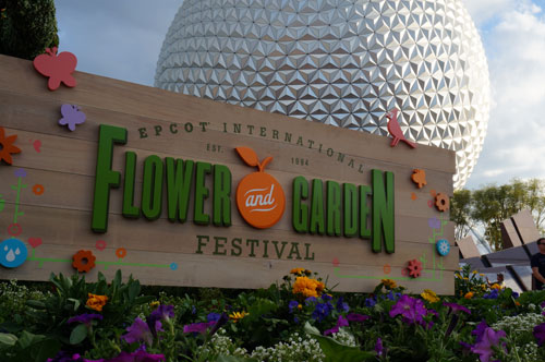 Welcome to the Epcot International Flower and Garden Festival!