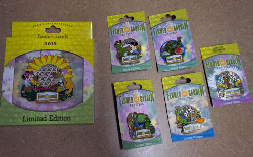 Here is your chance to win six Limited Edition Disney Trading Pins, including one jumbo pin.
