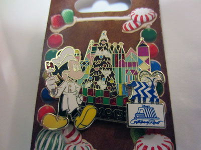 You can win this limited edition Disney trading pin.