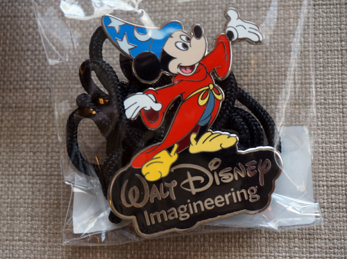 Bonus item - Mickey Mouse Imagineering lanyard.