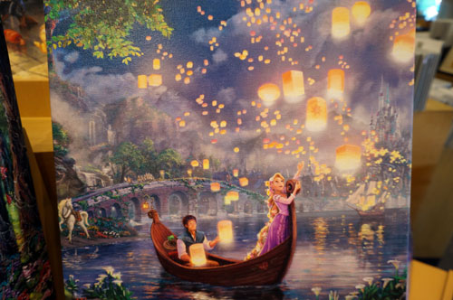 Win A Thomas Kinkade Canvas Of Beauty And The Beast