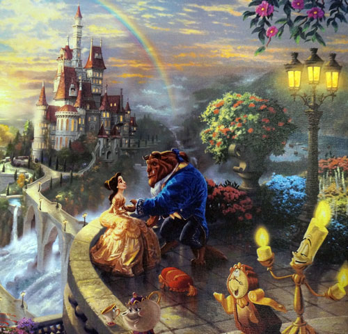 You can win this Beauty and the Beast art.