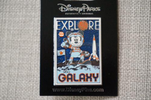 Mickey Moon Landing pin.