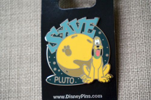 Pluto supports the dwarf planet that shares the same name.
