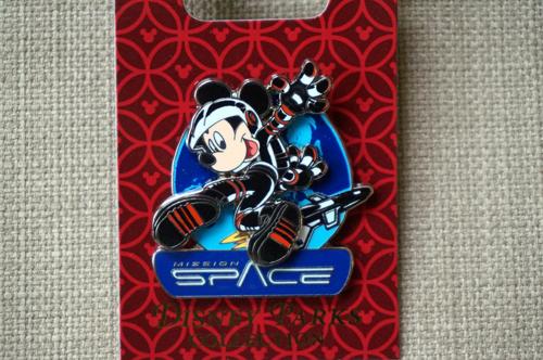 Astronaut Mickey pin.