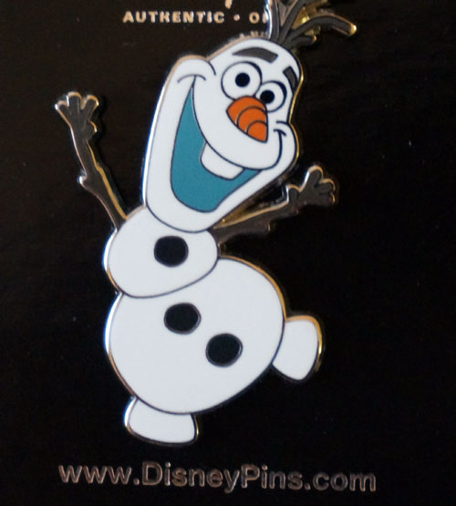 Second Olaf Disney Trading Pin.