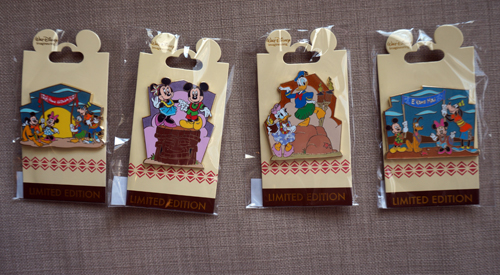 Win these four limited edition Disney trading pins.